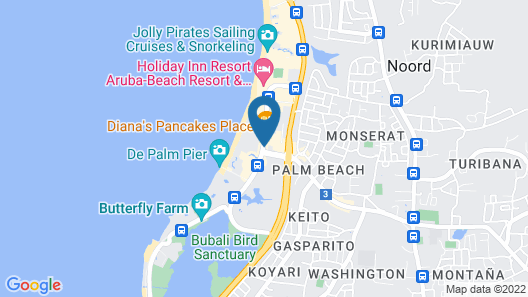 Barceló Aruba - All Inclusive Map