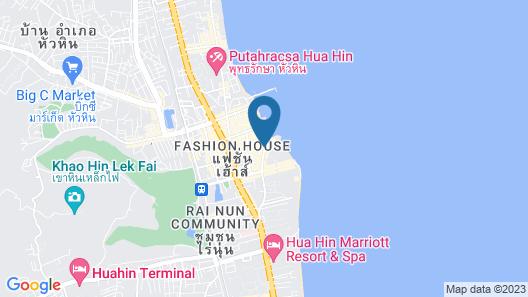 Hilton Hua Hin Resort & Spa Map