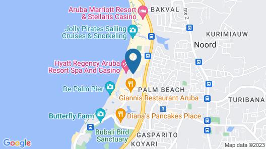 Hyatt Regency Aruba Resort and Casino Map
