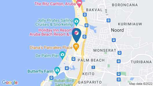 Playa Linda Beach Resort Map