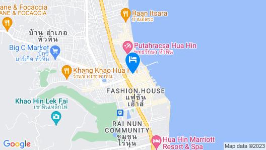 Hisea Huahin Hotel Map