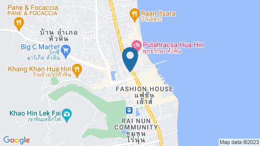Royal Pavilion Huahin Map