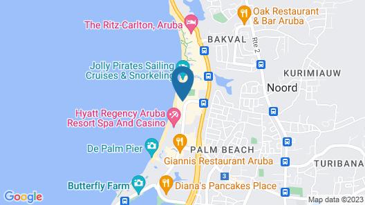Holiday Inn Resort Aruba - Beach Resort and Casino Map