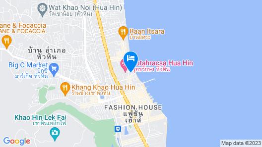 Putahracsa Hua Hin Resort Map