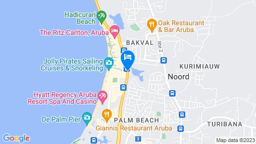 Marriott's Aruba Surf Club Map