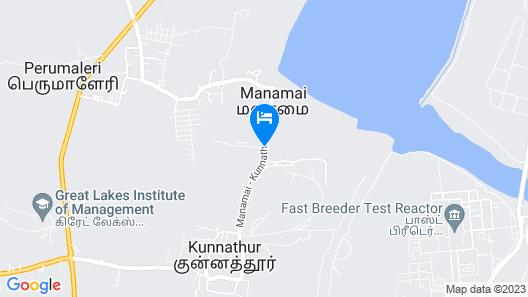 OYO 13820 Coco Retreat Farm Map