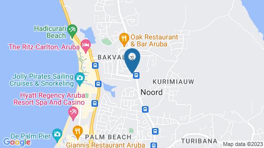 Villa Dita Map