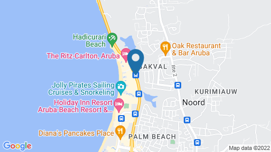 Aruba Marriott Resort & Stellaris Casino Map