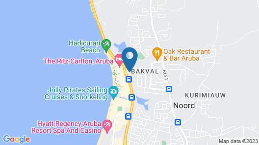 Boardwalk Boutique Hotel Map