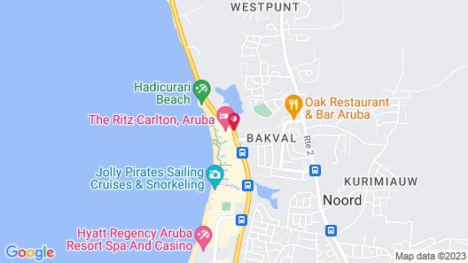 The Ritz-Carlton, Aruba Map
