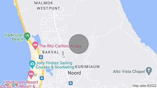Aruba Gloria Villa - Three Bedroom Villa, Sleeps 6 Map