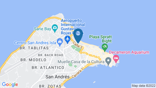 Decameron Isleño - All Inclusive Map