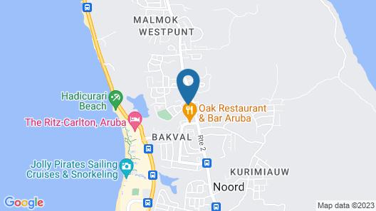 Rooi Santo Apartments Map