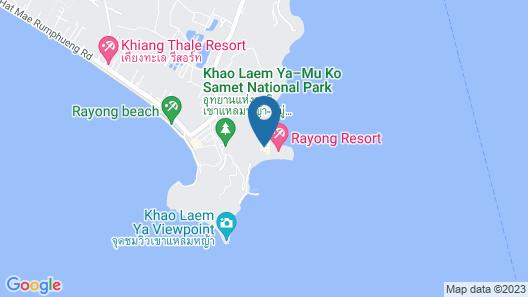 Rayong Resort Map