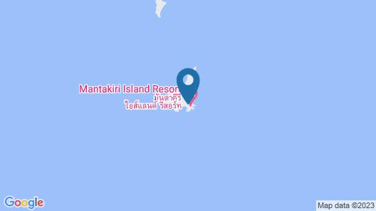 Mantakiri Island Resort Private Island Map