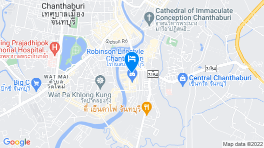 Bedgasm Hostel Chanthaburi Map