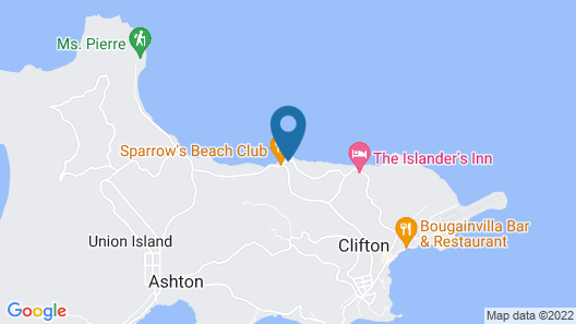 Davids Beach Hotel - All Inclusive Map