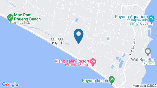 Tropicana Beach Villa at  VIP Resort Map