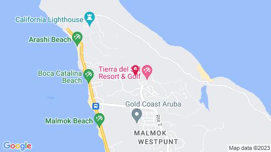 Walking to the Beach Villa Map