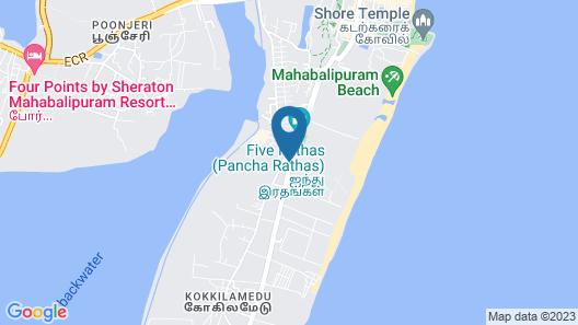 Chariot Beach Resort Map