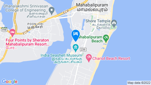 Nirvana Boutique Hotel Map