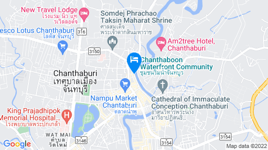 Baan Luang Rajamaitri Historic Inn Map
