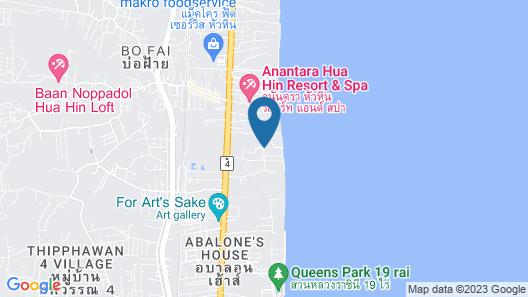 Beachfront Family Penthouse Hua Hin Map