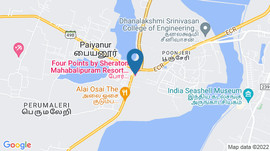 Four Points by Sheraton Mahabalipuram Resort & Convention Center Map
