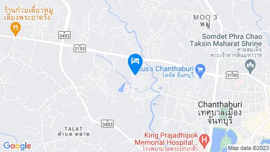 Chanpraya Resort Map