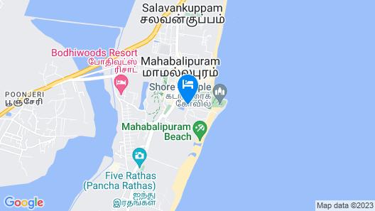 Indeco Mahabalipuram Map