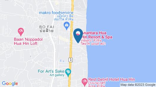 Anantara Hua Hin Resort Map