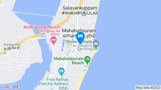 Hotel Mahabs Map
