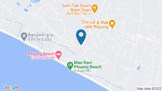 Blue Roof Bungalow Map