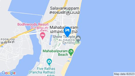 Sathvika Hotels Map
