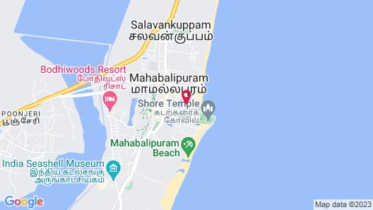 Oceanside Mahabalipuram Map