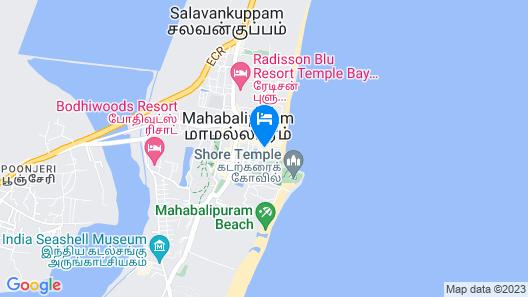 Rajalakshmi Guest House Map