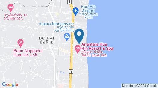 Mövenpick Asara Resort & Spa Hua Hin Map