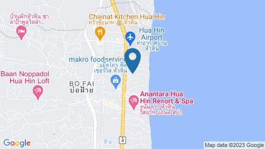 Sala @ Hua Hin Serviced Apartment & Hotel Map