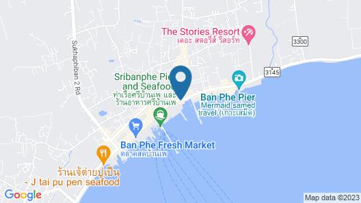OYO 595 Mac Garden Resort Map