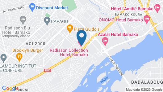 Radisson Collection Hotel Bamako Map