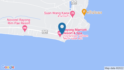 Rayong Marriott Resort & Spa Map
