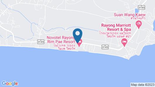 Amornphantvilla Resort Rayong Map