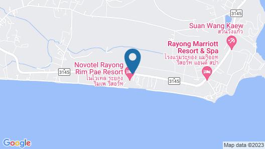 Novotel Rayong Rim Pae Resort Map
