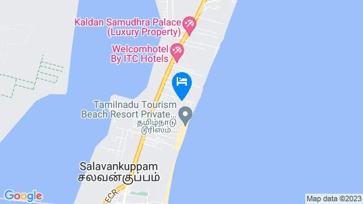 Meya Beach Walk Hotel Map