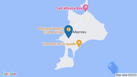 Dennis Hideaway Guesthouse Restaurant Map