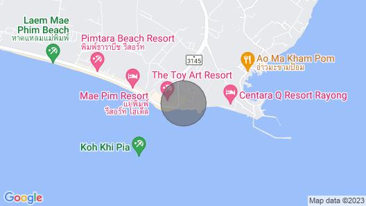 Absolute Beachfront Studio - Mae Phim Map