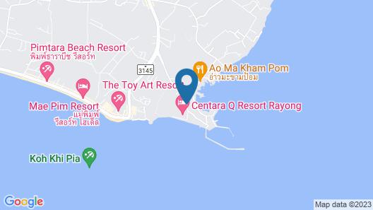 Centara Q Resort Rayong Map