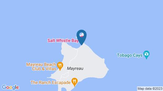 Salt Whistle Bay Retreat Map