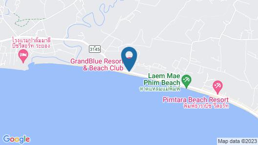 GrandBlue Resort Map