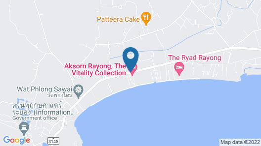 Aksorn Rayong The Vitality Collection Map